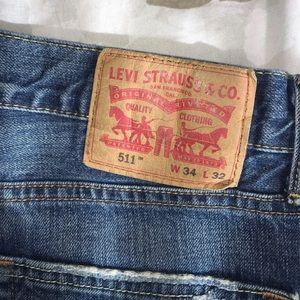 Men's Levi's 511 Jeans 34x32